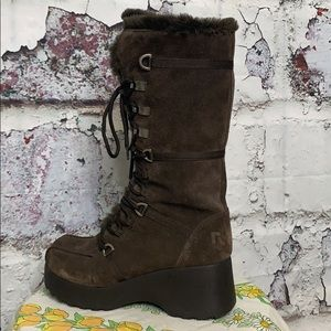 Report brown boots women's 10